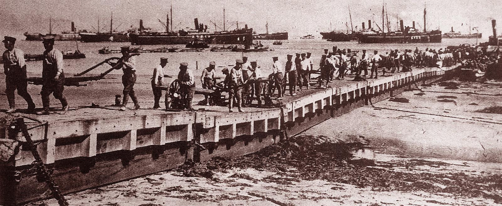 【第一次世界大戦】大日本帝国軍の奮闘!アメリカ …